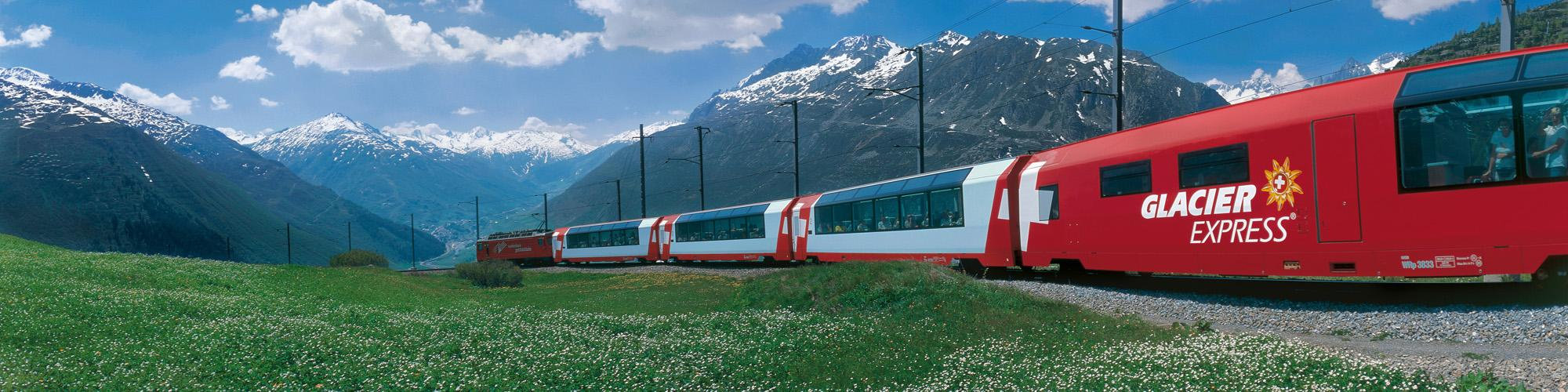 The Glacier Express- © Swiss Travel System